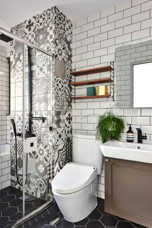 北欧风格简约小户型卫生间装修效果图