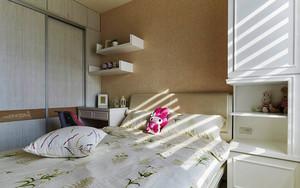 后现代风格精装两室两厅室内设计装修效果图