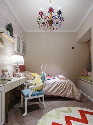欧式风格粉色甜美儿童房设计装修效果图