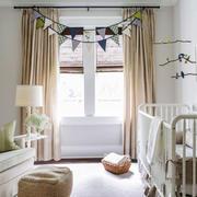 欧式风格清新婴儿房设计装修效果图赏析