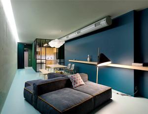 74平米现代风格精致公寓设计装修效果图赏析