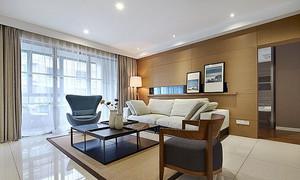 79平米现代风格精装一居室装修效果图