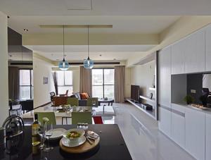 80平米现代简约风格室内设计装修效果图赏析