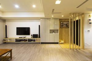 75平米宜家风格简约一居室室内设计实景图