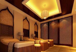 东南亚风格精致美容院设计装修效果图