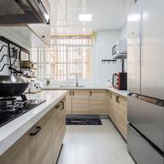 16平米现代简约风格厨房装修效果图赏析
