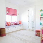 欧式风格甜美儿童房飘窗设计装修效果图赏析