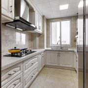 简欧风格大户型精致厨房设计装修效果图赏析