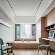 清新风格简约榻榻米卧室设计装修效果图赏析