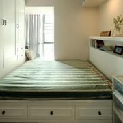 清新风格简约榻榻米卧室装修效果图赏析