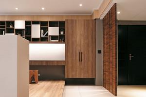 79平米现代风格精致两室两厅室内设计装修图