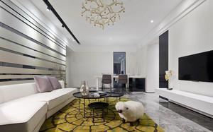 100平米现代简约风格时尚室内设计装修效果图