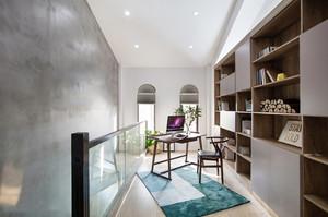 现代风格别墅开放式书房设计装修效果图赏析