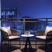 现代风格时尚休闲阳台装修效果图赏析