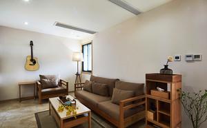 141平米新中式风格素雅复式楼室内设计装修图