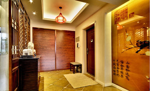 100平米中式风格古典精致装修效果图案例