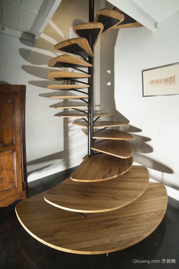 现代风格时尚创意楼梯设计装修效果图赏析