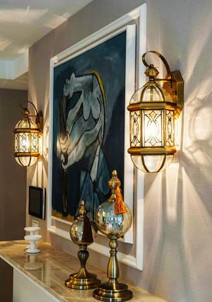 90平米简欧风格轻奢时尚室内设计装修效果图