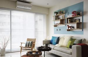 现代简约风格小户型清新客厅装修效果图