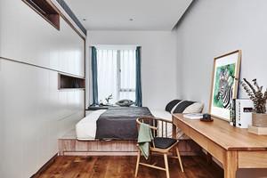 宜家风格简单榻榻米卧室装修效果图