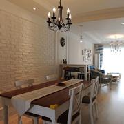 欧式风格浅色餐厅设计装修效果图赏析