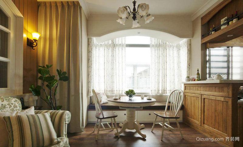 欧式风格室内精美飘窗设计装修效果图
