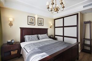 欧式风格温馨精美三室两厅室内装修实景图