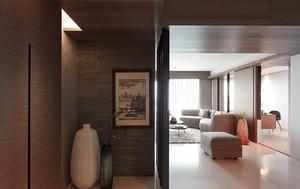现代简约风格精装两室两厅室内设计装修效果图