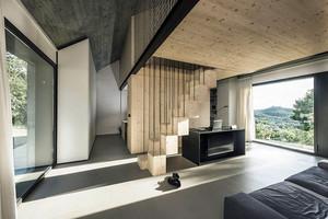 157平米现代风格创意小别墅装修效果图