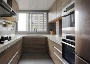 现代风格两居室精致厨房设计装修效果图