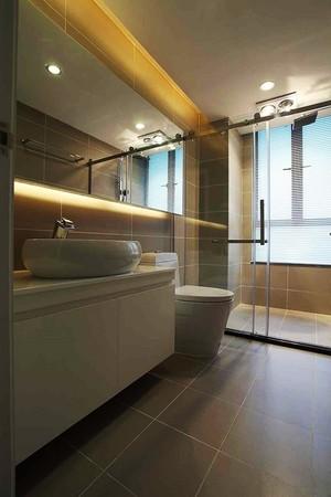 74平米简约风格精装公寓室内装修实景图