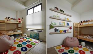 92平米现代简约风格时尚三室两厅装修效果图