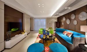 新古典主义风格时尚典雅大户型室内装修效果图