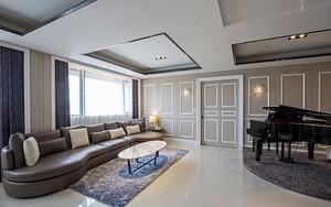 新古典主义风格清新典雅大户型室内装修效果图