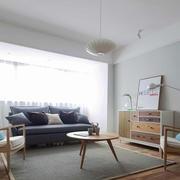 宜家风格简单时尚客厅设计装修效果图
