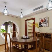 中式风格简约餐厅设计装修效果图赏析