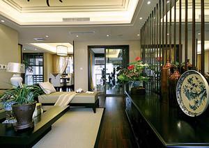 120平米中式风格古典精致室内设计装修效果图