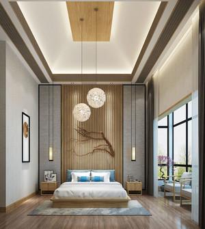 中式风格素雅精美卧室装修效果图赏析