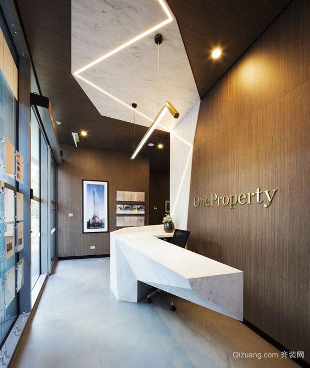 现代风格会议室吊顶设计装修效果图