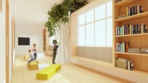 现代简约幼儿园教室装修效果图鉴赏