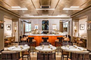 欧式风格五星级西餐厅设计装修效果图
