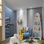 简欧风格浅色温馨儿童房设计装修效果图