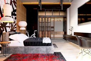 65平米后现代风格精致一居室装修效果图案例
