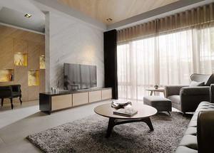 简欧风格精致复式楼室内设计装修效果图