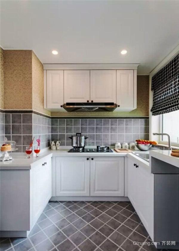 简约风格厨房设计装修实景图