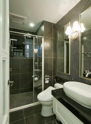 简约美式风格清新两室两厅室内装修效果图鉴赏