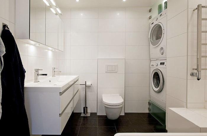 现代简约风格整洁卫生间装修效果图