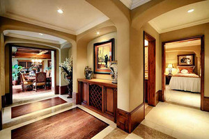 370平米美式风格经典别墅室内装修效果图