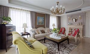 144平米欧式风格精装大户型室内装修效果图案例
