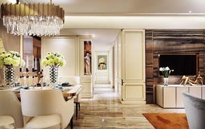 欧式风格典雅奢华过道设计装修效果图
